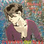 Deviens qui tu es - (Toile format 100 x 100) - Acrylique - Malagarty