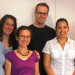 Unser Vorstand nach einem gelungenen Jubiläumsabend: Esther Hildenbrand-Berweger, Sabrina Tarolli, Cristina Berger, Daniel Kopp, Luana Cuzzucoli, Tamara Feuz (v.l.n.r.)