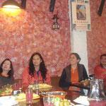 Dankesrede beim Essen mit Angestellten von Cisol
