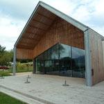 La Maison du lac d'Aiguebelette, inaugurée en juillet 2014
