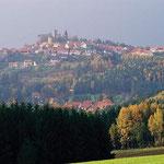 Blick auf Leuchtenberg