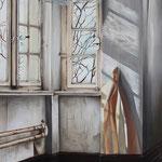 Hier und Da // Acryl auf Leinwand // 90x70 cm // 2014