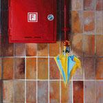 Ohne Titel // Acryl auf Leinwand // 24x18 cm // 2011