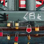 Ohne Titel (10. Kunsttage Königswinter: Rheinromantik heute, 26. Mai bis 29. Juni 2011) // 90x70 cm // 2011