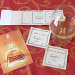 Cognacetiketten nach Vorbild von 1848 der Marke Montaubert