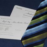Einladungsbeschriftung im Auftrag von Ingrid Schediwy