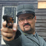 Test einer sowjetischen Makarow-Selbstladepistole (Luftdruckversion)