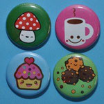 Button-Set Kawaiifreunde