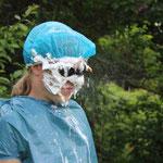 F.M.P  Popcorn-Schlacht  mit Gesichtsdusche
