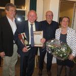 Verabschiedung & Ehrung von Dieter Hoppe mit Franz Guppenberger, Heinz Rosenberger und Cilly Hoppe