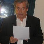 Franz Guppenberger beim Kassenbericht