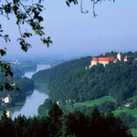Blick auf Neuburg