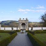 Blick vom Schloss Neuburg
