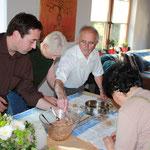 Zubereitung der vietnamesischen Frühlingsrollen
