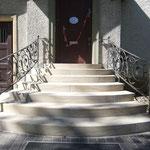 Rekonstruierte Sandsteintreppe Dahlem