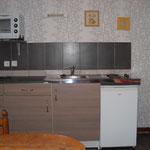 Espace cuisine gîte Chèvrerie