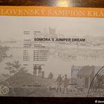 Slowakischer Champion Somora´s Juniper Dream N/hu Titel erhalten am 10.06.2018