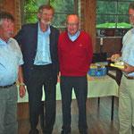 3 Platz: Müller Werner, Bärtschi Rudolf, Berger Albert