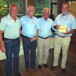 2 Platz: Duttwiler Franz, Barben Hans-Ulrich, Kick Eugen