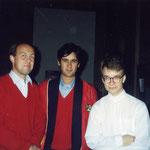 Con Goran Mafcusson e Petri Alanko
