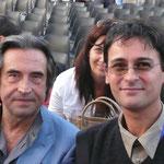 Con Riccardo Muti
