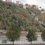 Blick auf Festung Ehrenbreitstein