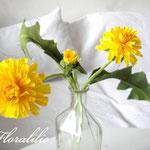 Gumpaste Dandelion by Floralilie