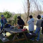 熊野森緑地作業の後で