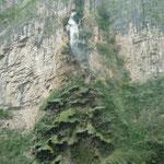 Cascada Árbol de Navidada del Cañón del Sumidero