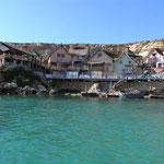 Popelle Village desde el mar