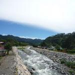 El río Caldera, que atraviesa Boquete