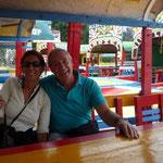Xochimilco, con Antonio