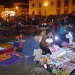 Venta de artesanías en el Zócalo