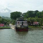 Moyogalpa, puerto de entrada a Isla de Ometepe