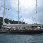 Un famoso velero, el Valsheda