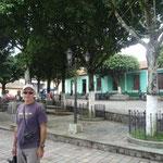 Plaza central de Ciudad Vieja