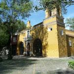 Barrio de Coyoacán, en el sur de Distrito Federal