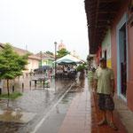 La calle peatonal La Calzada