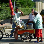 Vendedor ambulante de empanadas