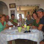En la casa de Julio y Soledad