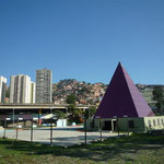 Entrando a Caracas con el bus