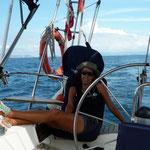 Dejando atrás Venezuela rumbo a las Antillas Holandesas