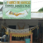 Venta de hamacas en el barrio de San Juan