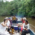 Excursión en  el bote