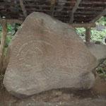 Petroglifo en El Porvenir