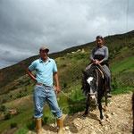 Paseo con Careto, el caballo de Virgi