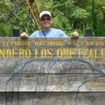 Entrada del Sendero de los Quetzales