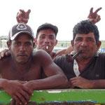 Yonatan, Jose Luis y Pedro