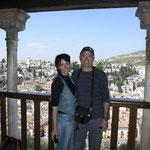 El Albayzín desde la Alhambra