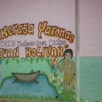 una escuela indígena en San Jose de Bujas